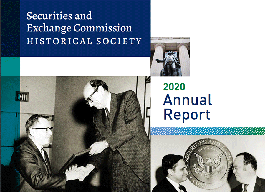 Cover of the 2020 SECHS Annual Report