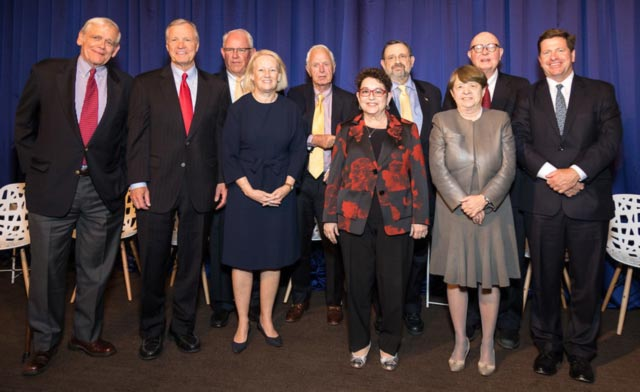 Portrait of former SEC Chairs